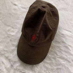 Olive Green Polo Hat